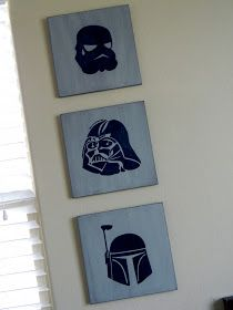 Little Bit of Paint: Star Wars art