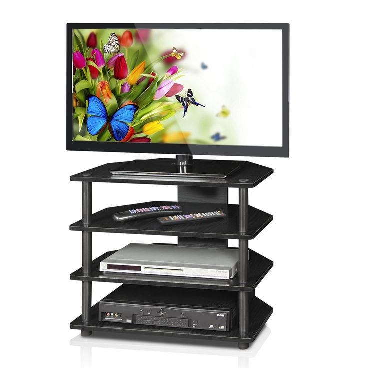 Modern TV Stand Media Center With Shelves Storage Durable Wood Home Furniture  #TVStand
