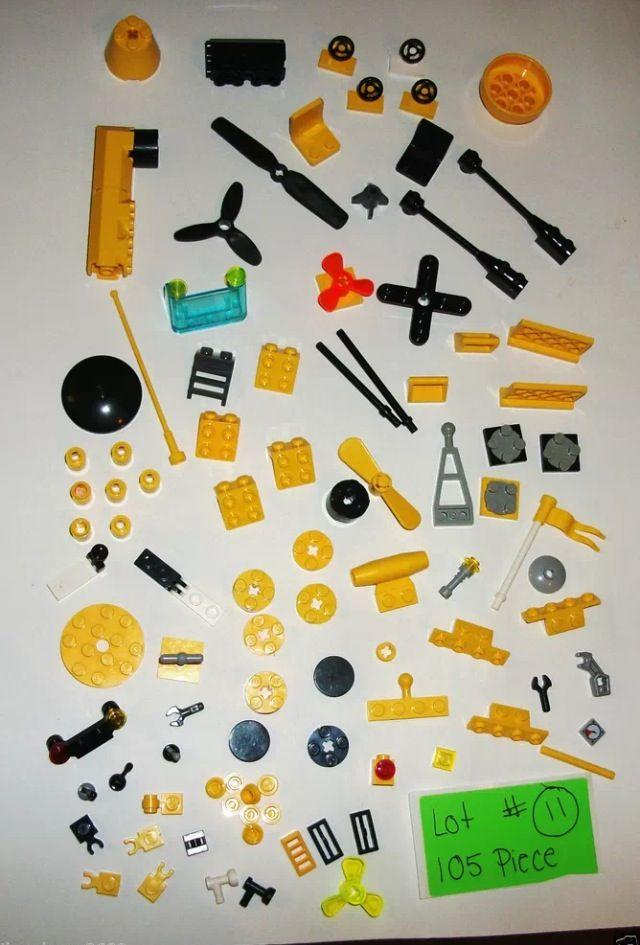 Yellow black lego submarine aqua nautical paper craft for Room decor embellishment art