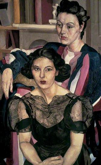 """The Sisters"", Stanley Spencer, c. 1940"