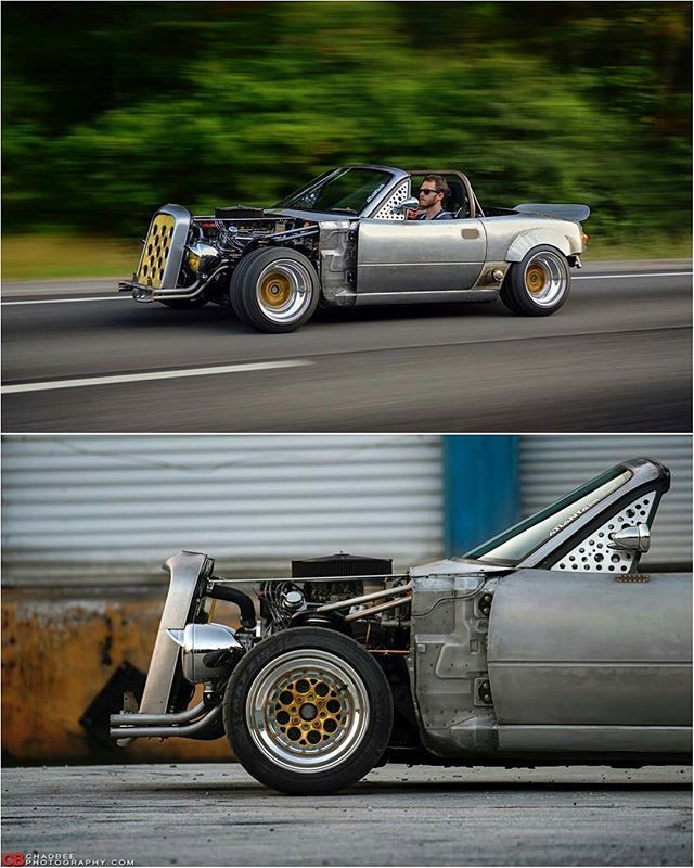 @bossroadster / Photo by: @chadbeephotography  for @superstreet #SuperStreet #TopMiata
