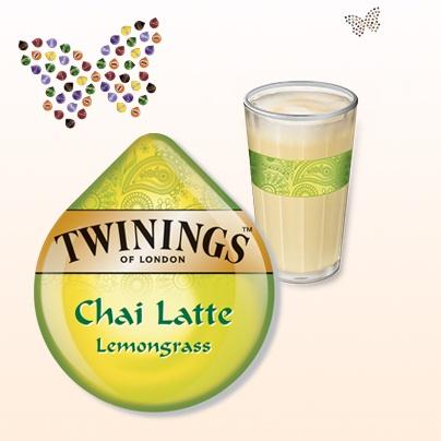 Twinings Chai Latte Lemongrass  #Tassimo #TDISC #Twinings #chai #latte #lemongrass