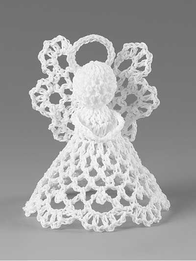 Crochet Angels Ornaments Free Patterns Bubbles Crochet Angel