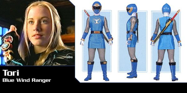 Tori Hanson (Blue Wind Ranger) - Power Rangers Ninja Storm | Power Rangers Central