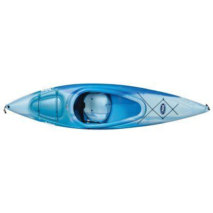 Pelican Fade Blue Pursuit 100 Sit-in Kayak | Hayneedle