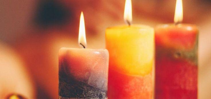 El significado de las velas por su color y llama