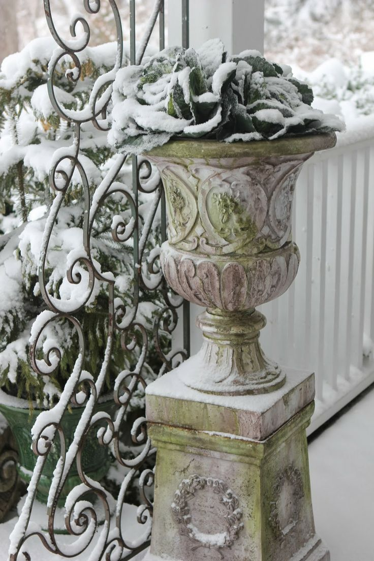 Decorated Cooking Urn 51 Best Planters Pillars & Urns Images On Pinterest  Gardening