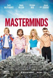 Masterminds (2016) Full Hd Watch