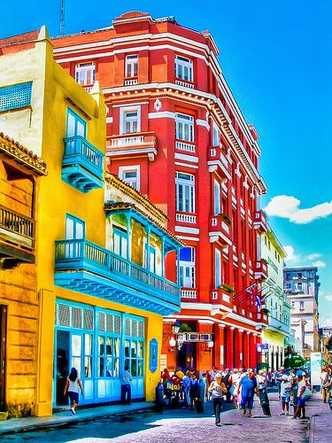 The Red Hotel, Havana | Cuba (by A.Todd Photography) kThis post has 71 notes tThis was posted 1 day ago zThis has been tagged with havana, la habana, cuba, HDR, colors, travel, caribbean, wanderlust, architecture, hotel, the red hotel, Rhttp://travelingcolors.tumblr.com