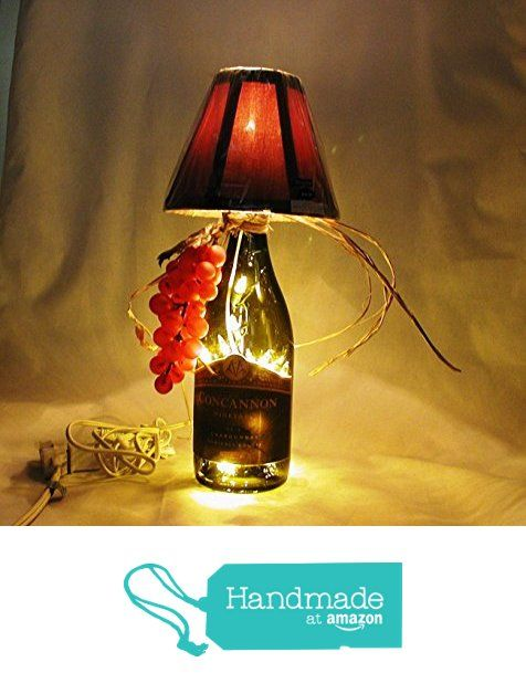 40 best small wine bottle table lamps images on pinterest buffet wine bottle table lamp crafted from a recycled concannon vineyard chardonnay wine bottle shipping is aloadofball Choice Image
