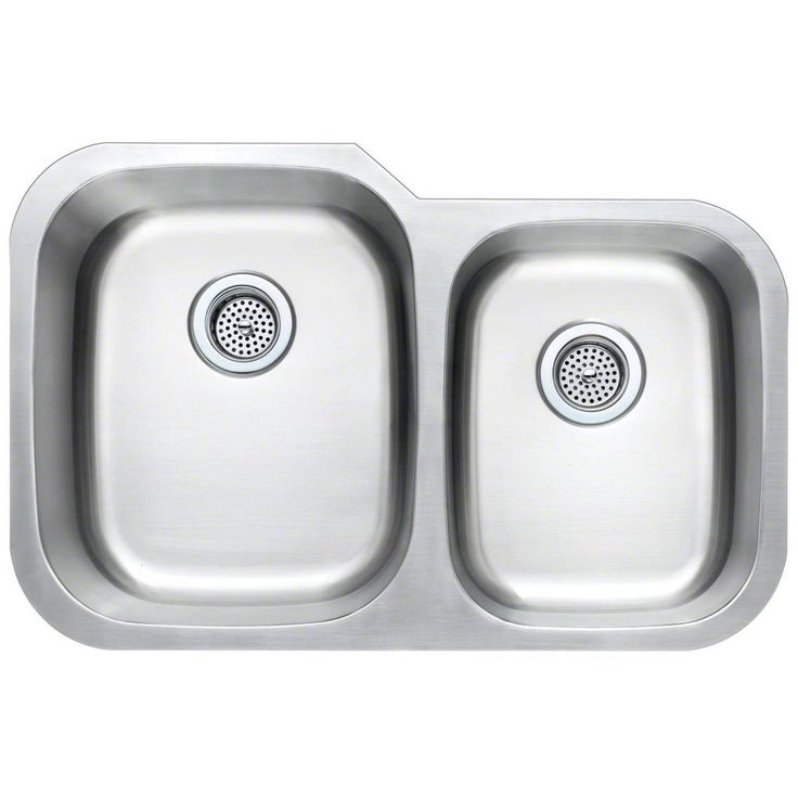 Double Bowl M undermount stainless steel