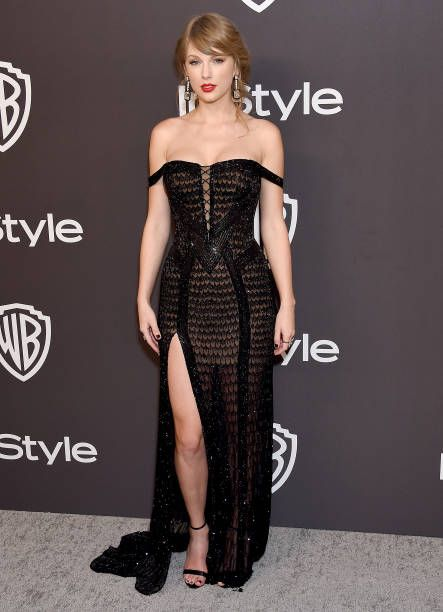 Taylor Swift attends the InStyle And Warner Bros. Golden Globes ... 048a34daf69d