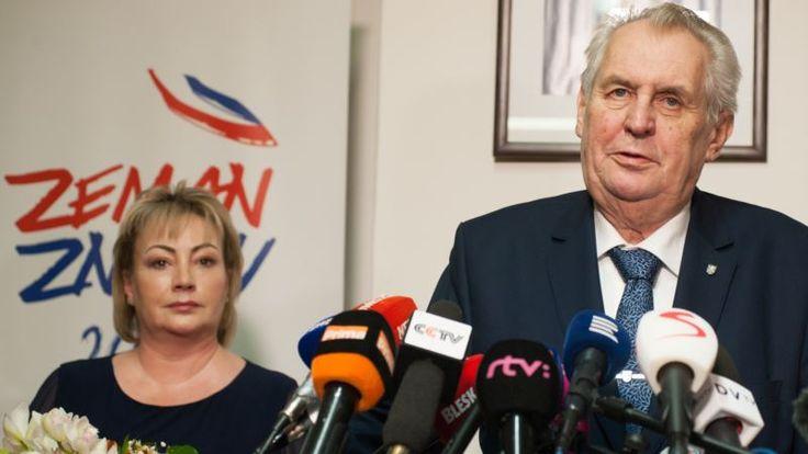 Zeman, Drahos Set for Runoff Vote in Czech Presidential Poll