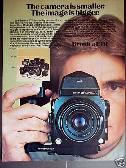 Bronica Etr 120 Camera System Photo (1977)