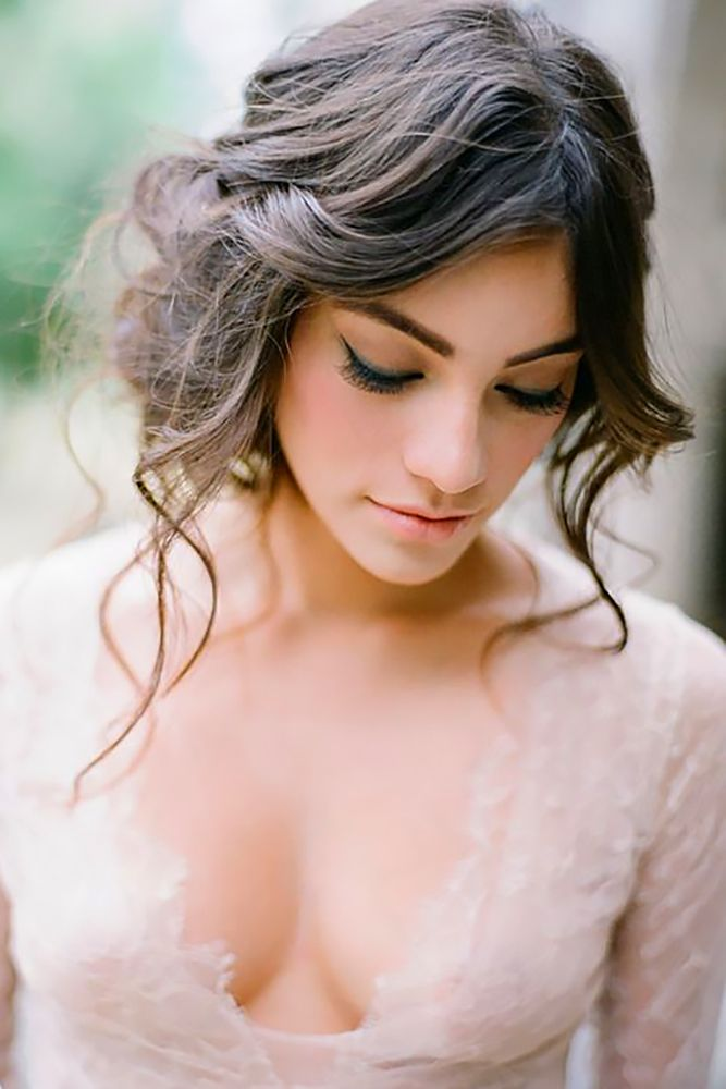 Timeless Wedding Hairstyles For Medium Length Hair ❤ See more: www.weddingforw…