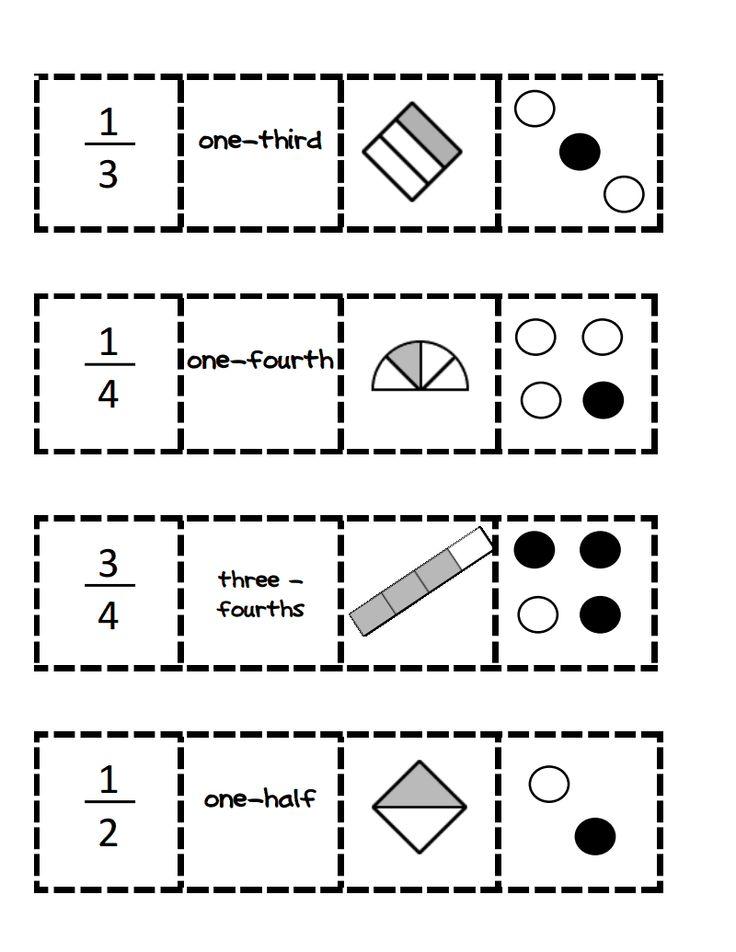 fraction match up.pdf - Google Drive   Pecahan Matematika