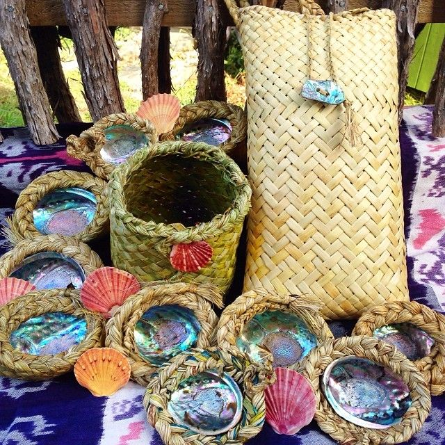 Flax Weaving by Daughter of the Sun