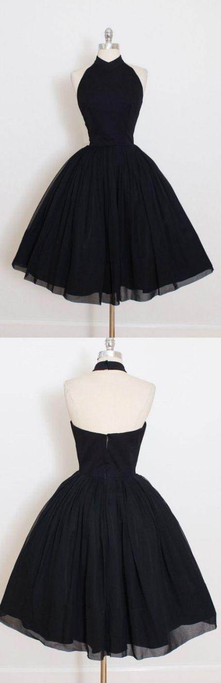 Schöne kurze Ballkleid-Abschlussball-Kleider, schwarze ärmellose gefaltete Minihomecoming-Kleider M3069