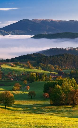 Horehronie is a tourism and geographic region of Slovakia. It is situated in the Banská Bystrica and Brezno districts and encompasses the upper Hron River valley and the surrounding Low Tatra mountain ranges.    #Slovakia #Horehronie          Photo by Lubomir Majersky