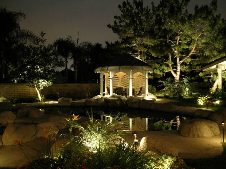 Landscape outdoor lighting designs for homes system pavers