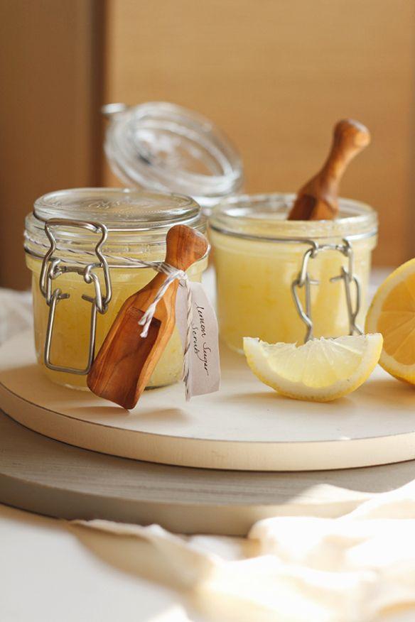Luxurious Lemon Sugar Body Scrub   Fig & Honey