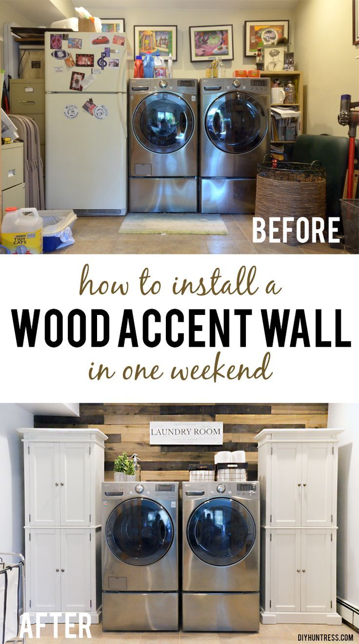 DIY Woodworking Ideas how to install a wood wall pinterest