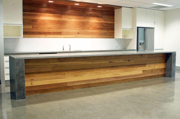 Katestone Kitchen and Island benchtop in POPconcrete