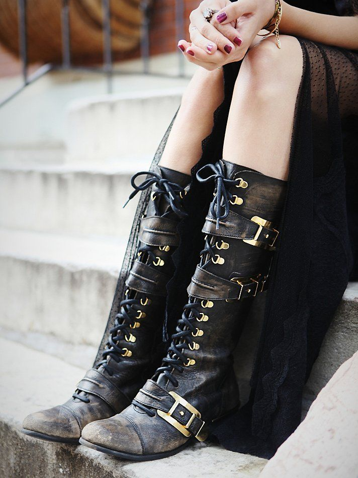 Free People Kantell Lace Up Boot at Free People Clothing Boutique .:!:.
