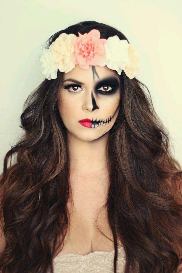maquiagem halloween - make up halloween - diy makeup -