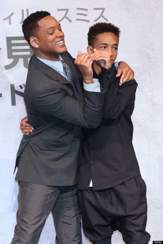 Like father. Like son.