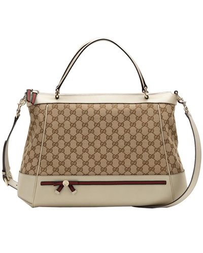 Gucci mayfair large top handle bag - $239