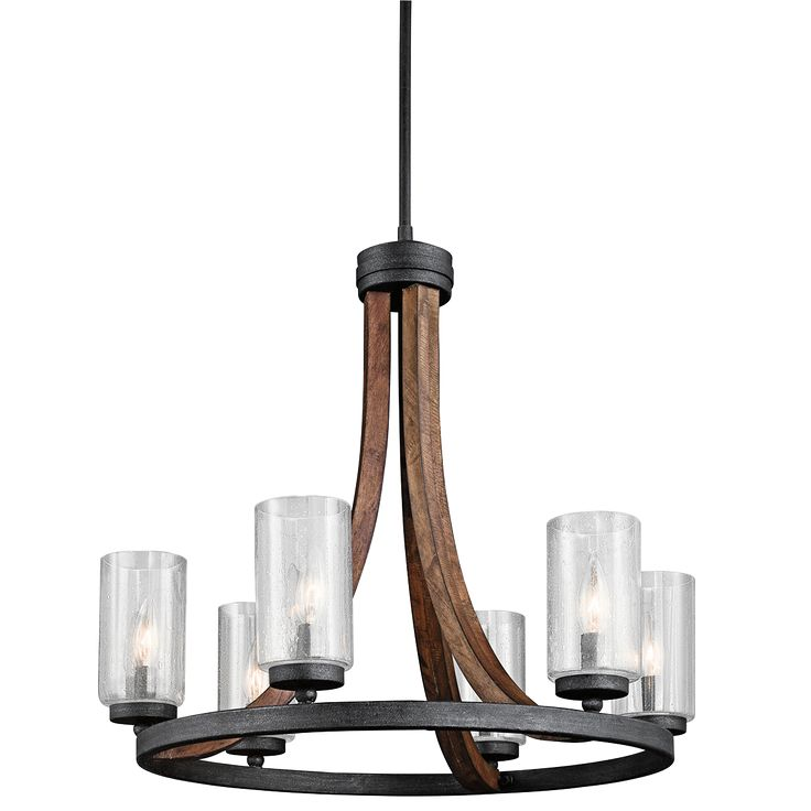 6 Light Chandelier - Grand Bank Collection