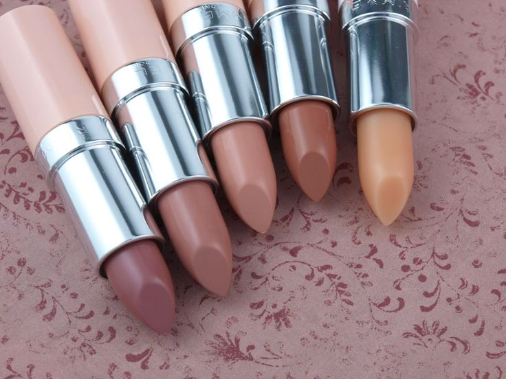 The Happy Sloths: Rimmel London Kate Moss Nude Collection Lipsticks:.