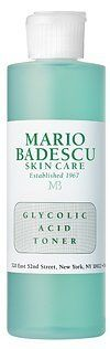 Mario Badescu Glycolic Foam Cleanser (6.0 oz) by Mario Badescu. $15.00. Most Popular Cleanser sold. For dull, congested skin, this lathering, deep cleanser has the exfoliating powers of Glycolic Acid to break down build-up from skins surface, reduce minor discoloration and leave skin radiant and smooth. Formulated with Herbal Extracts for soothing benefits. Best when used 2-3 times weekly or as recommended by your skin specialist based on your skins needs. (6.0 oz)