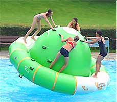 Step 1- buy this. Step 2- make friends that like the water. Step 3- kick their butts at king of the raft