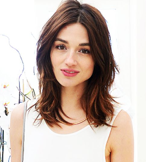 Crystal Reed - hair inspiration as I grow mine out