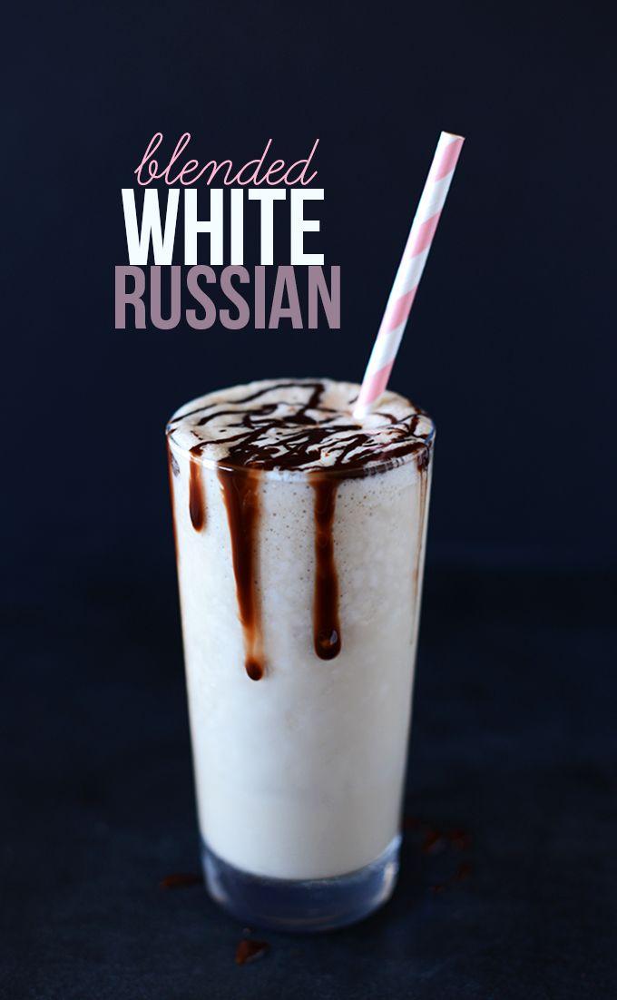 Blended White Russian
