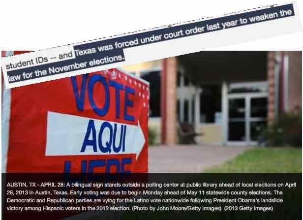 Voter ID Law What Voter ID Law❓  #fboLoud #tcot #maga #tpot #AmericaFirst #ycot http://www.foxnews.com/politics/2017/04/10/federal-judge-again-rules-texas-voter-id-law-is-discriminatory.html … http://fboLoud.com 🇺🇸