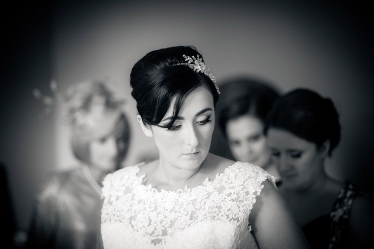 black and white vintage wedding