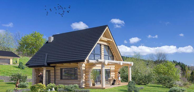 Dom z bali, dom z drewna, dom weekendowy