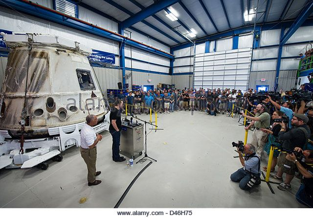 SpaceX Dragon Cargo Transfer (201206130004HQ) - Stock Image
