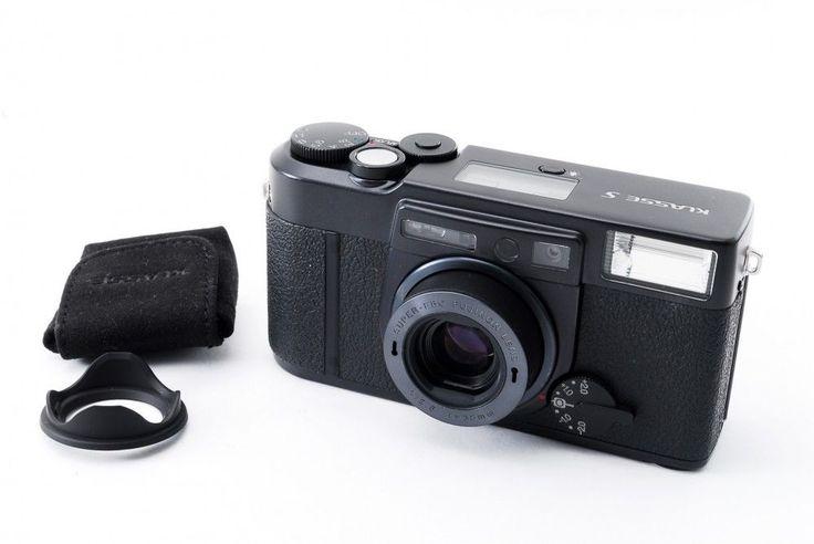 Fujifilm KLASSE S Black 35mm Film Camera 38mm f/2.8 w/ Hood EXC+++ From Japan | Cameras & Photo, Film Photography, Film Cameras | eBay!