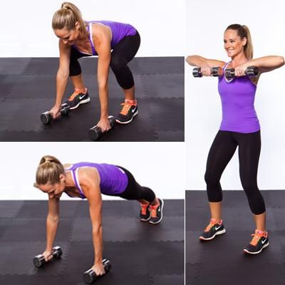20 ways to get more out of your workout. I can't wait to try these substitutions, especially this awesome take on a burpee.