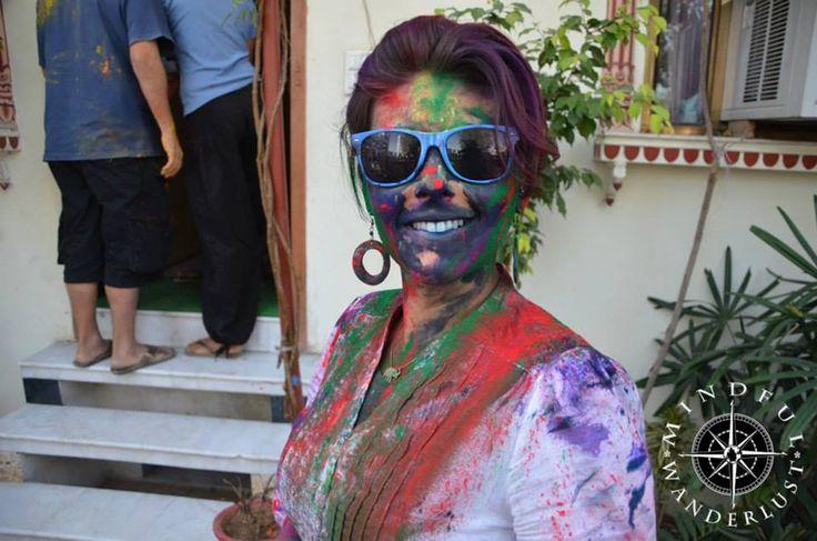 Holi Festival, Jaipur India