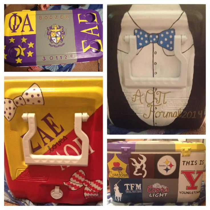 SAE fraternity cooler