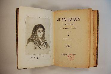 Livre (Jean Talon, intendant de la Nouvelle-France (1665-1672)). Page de titre
