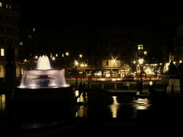 ロンドン   トラファルガー広場   2014年1月18日撮影