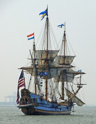 Tall ship 'KALMAR NYCKEL' will be participating in OpSail 2012 and along the Portsmouth, Virginia waterfront. Photo by Joe Elder