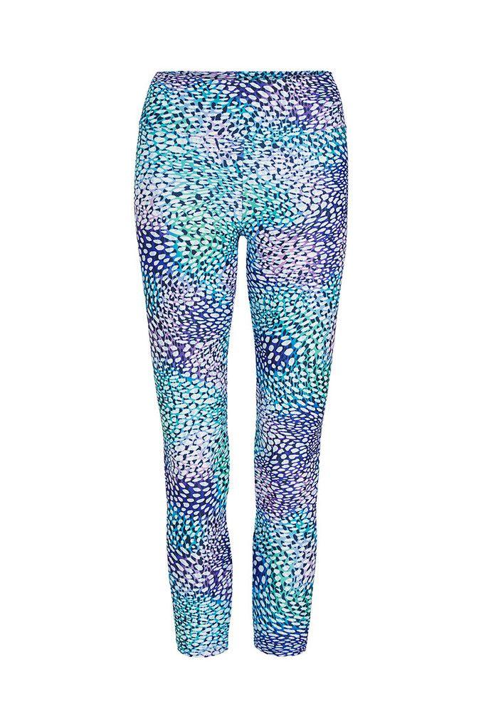 Oxygen Printed Yoga Legging - 3/4 – Dharma Bums Yoga and Activewear