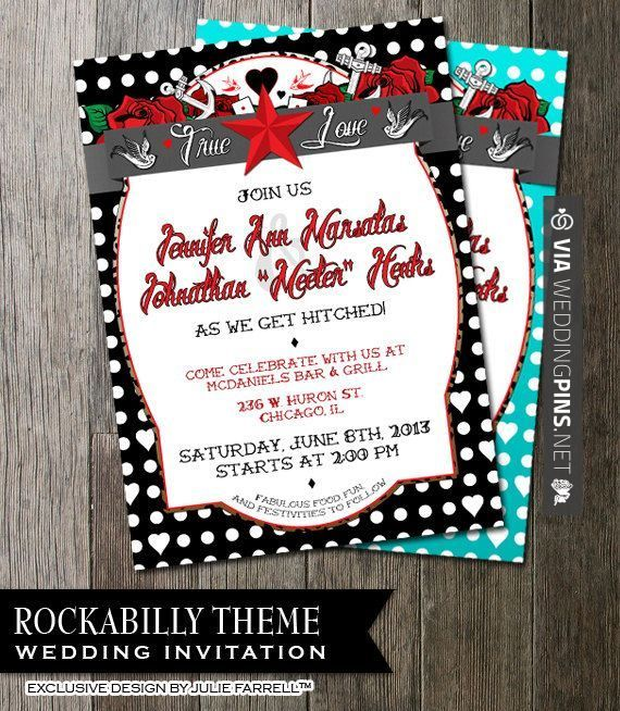 So good - Oraciones para invitaciones de boda Rockabilly Wedding Invitation for that offbeat by OddLotEmporium, $22.00 | CHECK OUT THESE OTHER SWEET PICTURES OF TASTY oraciones para invitaciones de boda HERE AT WEDDINGPINS.NET | #comohacerinvitacionesdeboda #oracionesparainvitacionesdeboda #oracionesparainvitaciones #Invitaciones #boda #weddings #invitations #weddinginvitations #vows #tradition #nontraditional #events #forweddings #iloveweddings #romance #beauty #planners #fa